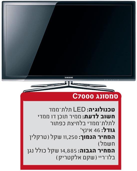 טלוויזיה תל מימד סמסונג / צלם: יחצ